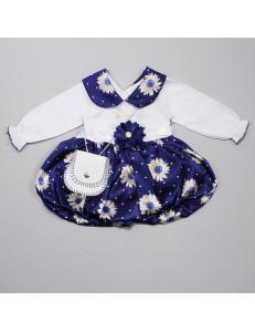 """Платье нарядное на малышку """"ромашка"""""""